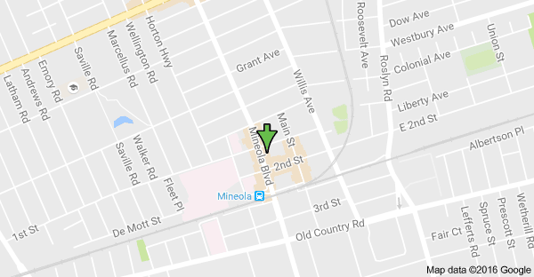 Mineola Office Map
